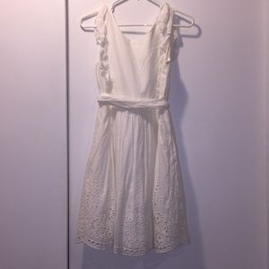 White dress girls size 14-16